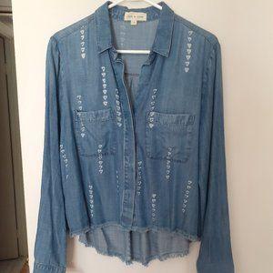 Cloth & Stone Jean shirt